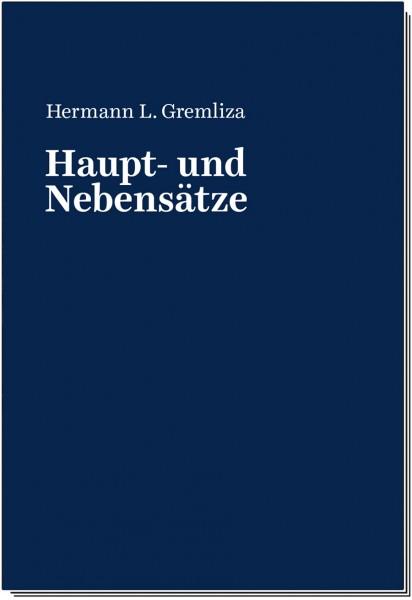 """Hermann L. Gremliza: 1940-2019 """"Haupt- und Nebensätze"""""""