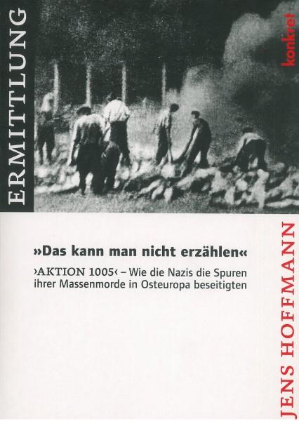 """Jens Hoffmann: """"Das kann man nicht erzählen"""""""