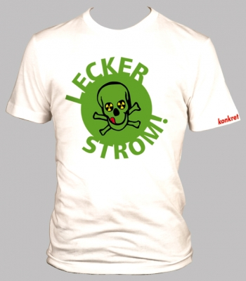 "T-Shirt ""Lecker Strom"""
