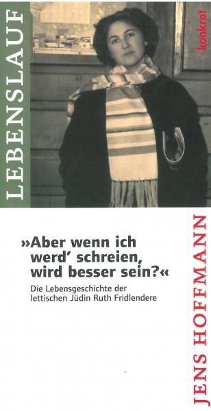 """Jens Hoffmann: """"Aber wenn ich werd' schreien, wird besser sein?"""""""
